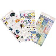 Uniti Sticker Book Travel 16  Sheets