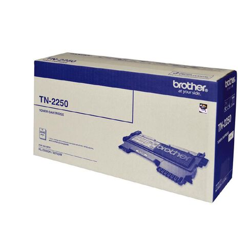 Brother Toner TN2250 Black (2600 Pages)