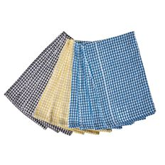 Living & Co Tea Towel Dobby Assorted 10 Pack