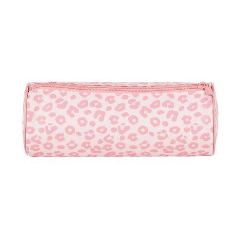 WS Pencil Case Tube Leopard