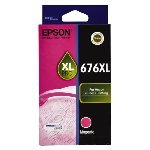 Epson Ink 676XL Magenta (1200 Pages)