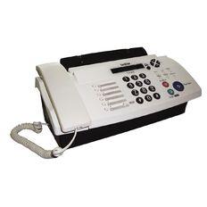 Brother Fax Machine 878 White