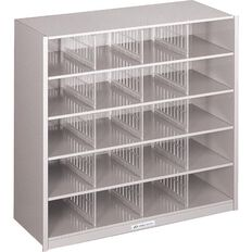 Precision 20 Pigeon Hole Silver Grey