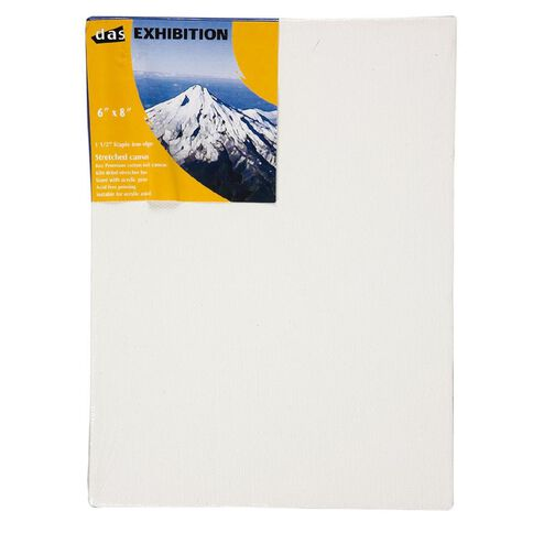 DAS 1.5 Exhibition Canvas 6 x 8in White