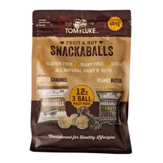 Tom and Luke Snackaballs Peaunut Cacao/Salted Caramel 504g