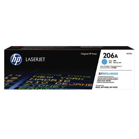 HP Toner 206A Cyan (1250 Pages)