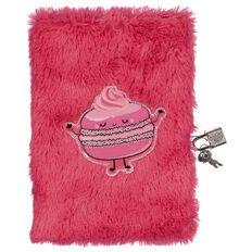 Kookie Sweets Furry Lockable Notebook
