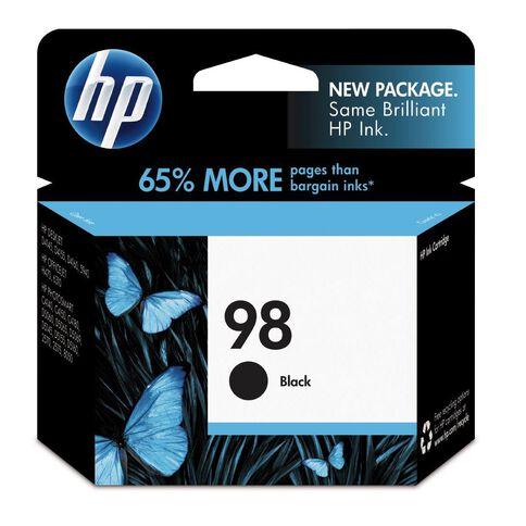 HP Ink Cartridge 98 Black (420 Pages)