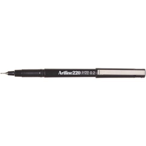 Artline Pen 220 Extra Fine 0.2mm Black