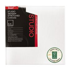 Jasart Studio Canvas 3/4 Inch Edge 8in x 8in