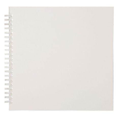 Uniti Spiral Album 8x8 White