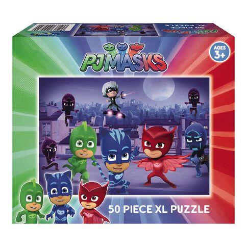 PJ Masks XL Boxed Jigsaw Puzzle 50 Piece Assorted