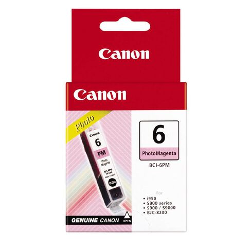 Canon Ink BCI6 Photo Magenta (260 Pages)