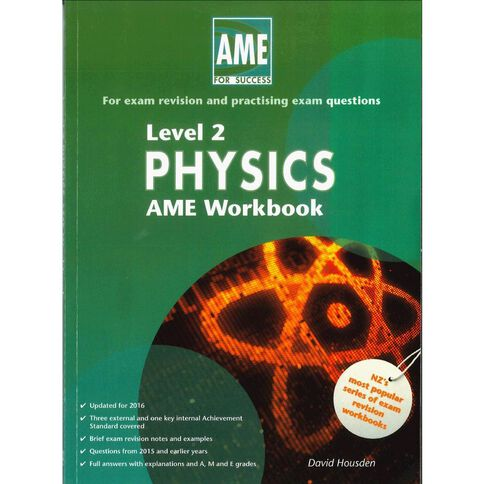 Ncea Year 12 Physics Workbook