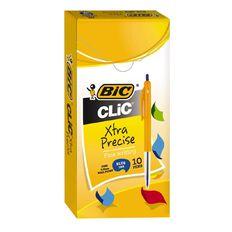 Bic Clic Fine 10 Pack Blue