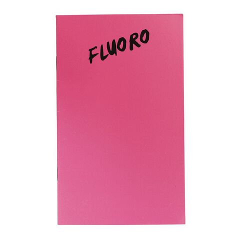 WS Notebook 3B1 7mm Ruled Fluoro 32 Leaf Mixed Assortment