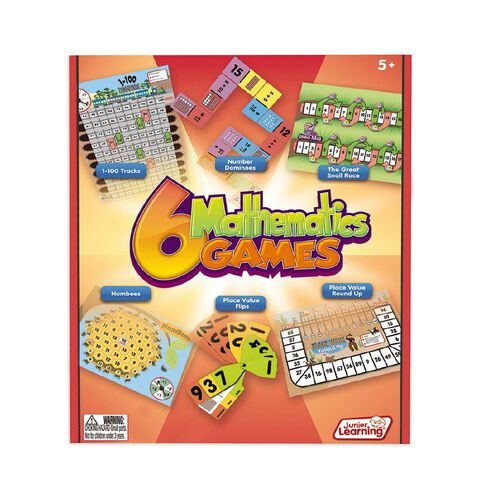 Junior Learning 6 Mathematics Games