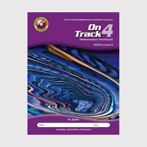 Ncea Year 12 Mathematics On Track Workbook 4