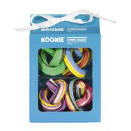 Kookie Novelty19 Stripe Eraser 4 Pack