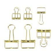 Uniti Secret Garden Binder Clip Set 6 Pack