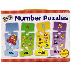Galt Number Puzzles