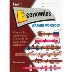 Ncea Year 11 Economics Learning Workbook