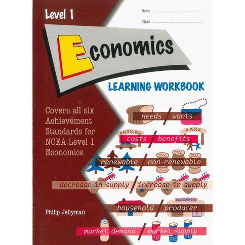 Ncea Year 11 Economics Learning Workbook