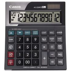Canon Calculator As220Rts Desktop Black