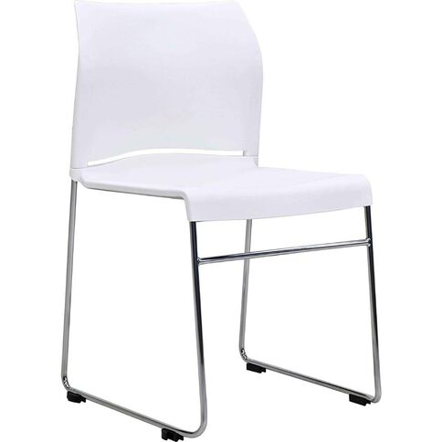 Buro Seating Envy Stacker Chair White