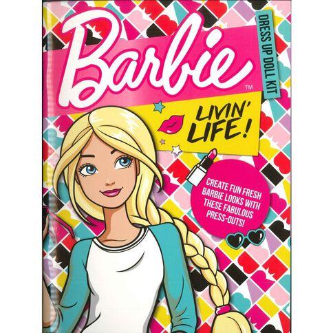 Barbie Dress Up Doll Livin' Life