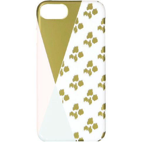 Pastel Geo iPhone 6/7/8 Leopard Case