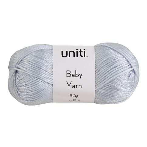 Uniti Yarn Baby Acrylic 4 Ply Blue 50g