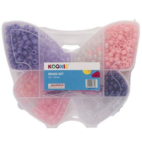 Kookie Beads Set in Butterfly case