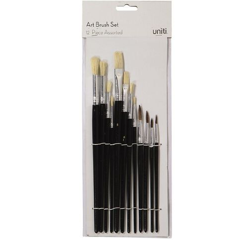 Uniti Artist Brush Set 12 pack