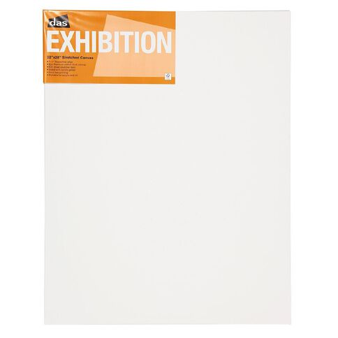 DAS 1.5 Exhibition Canvas 22 x 28in White