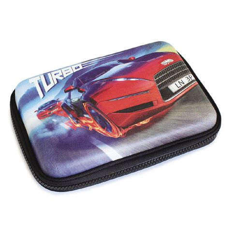 Pencil Case Turbo Hard Shell Fabric