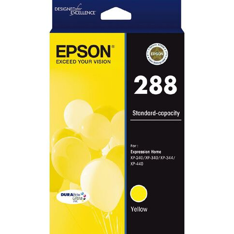 Epson 288 DURAbrite Ink Yellow (165 pages)