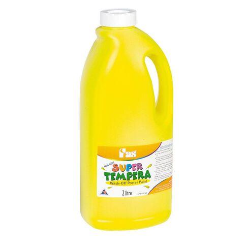 FAS Paint Super Tempera 2L Yellow Yellow 2L