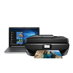 Buy 1 HP 15-DB0163AU Notebook & 1 HP Officejet 5220 All-In-One Printer for $799