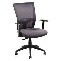 Jasper J Advance Air Plus Charcoal with Adjustable Arms Charcoal