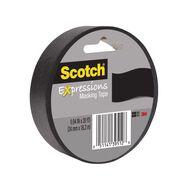 Scotch Masking Craft Tape 25mm x 18m Black