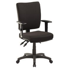 Jasper J Advance Plus Black with Adjustable Arms