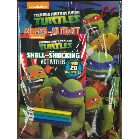 Teenage Mutant Ninja Turtles Activity Pack