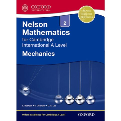 As/A Year 12/13 Nelson Mechanics 2