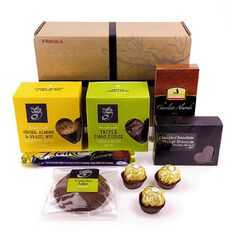 Flying Flowers Chocolate & Cookies Gift Hamper