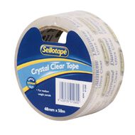 Sellotape Diamond Tape 48mm x 50m Clear