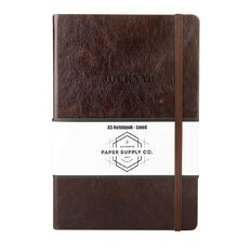 Paper Co Vintage Journal Brown A5