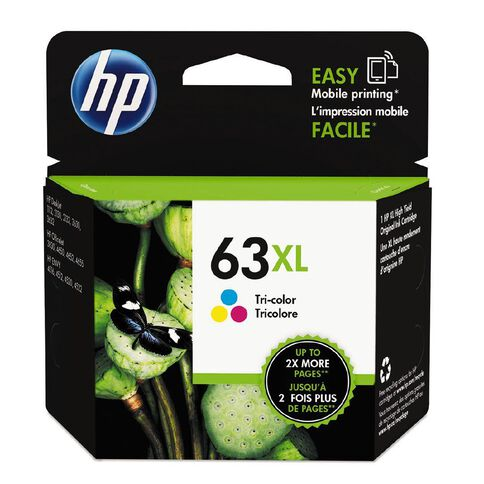 HP Ink 63XL Colour (330 Pages)