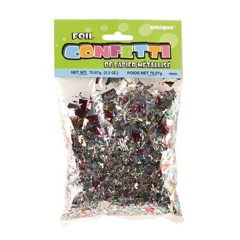 Unique Confetti Foil 2.5oz Multi-Coloured