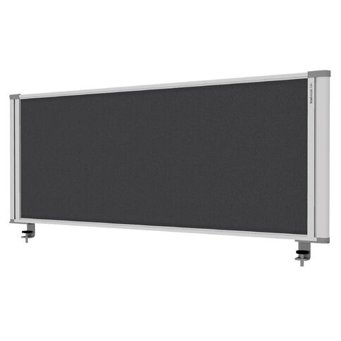 Boyd Visuals Desk Mounted Partition 1160W Grey